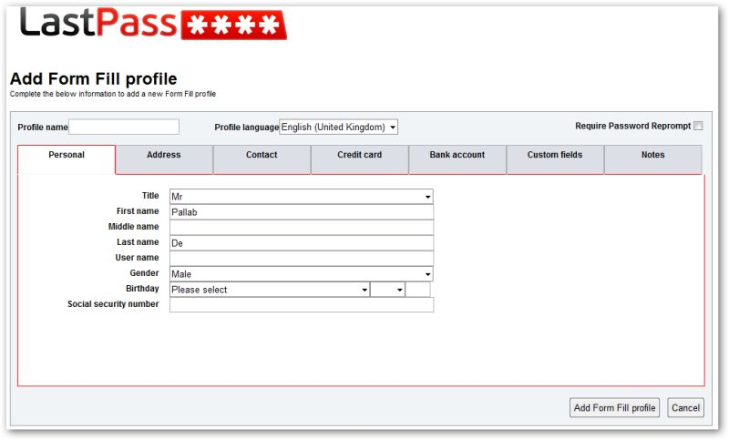 LastPass-Form-Profile